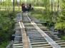Reparation av bron över bäckmyrbäcken
